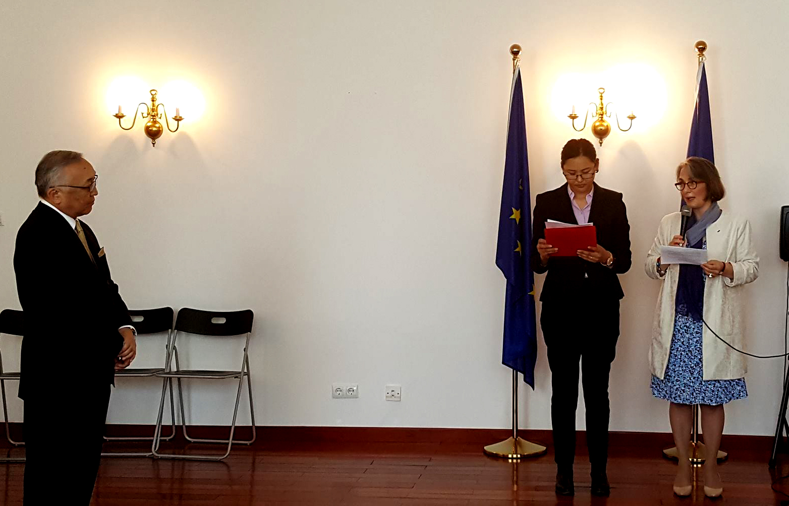 irim president, ambassador bekhbat receives légion d